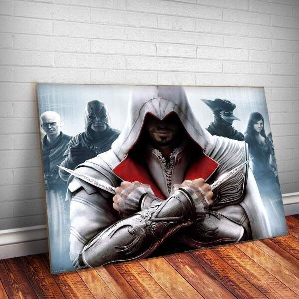 Placa Decorativa Assassins Creed 4