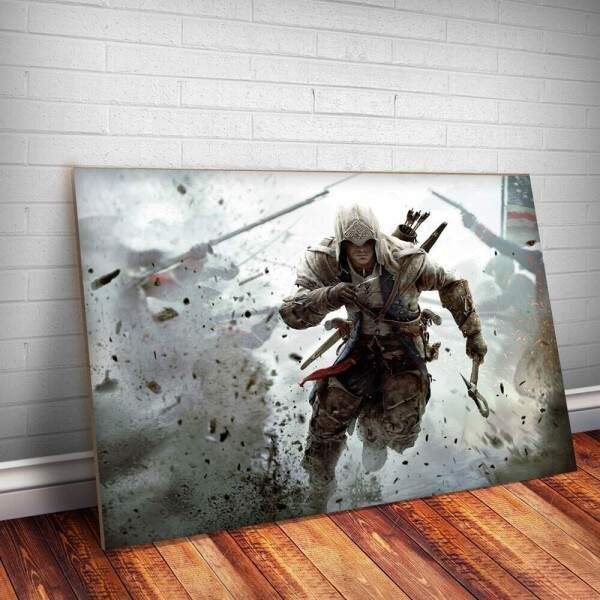 Placa Decorativa Assassins Creed 5