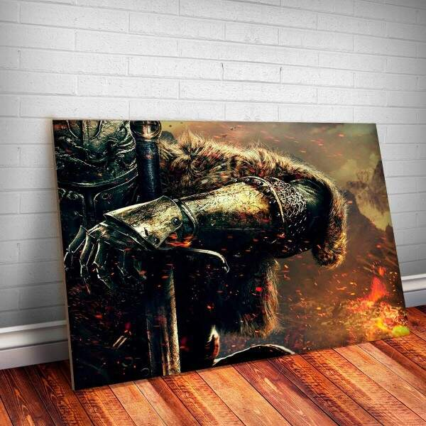 Placa Decorativa Dark Souls 1