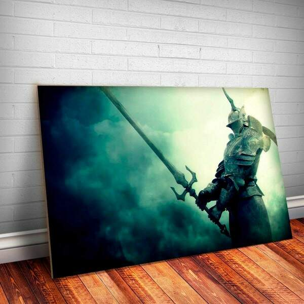 Placa Decorativa Dark Souls 4