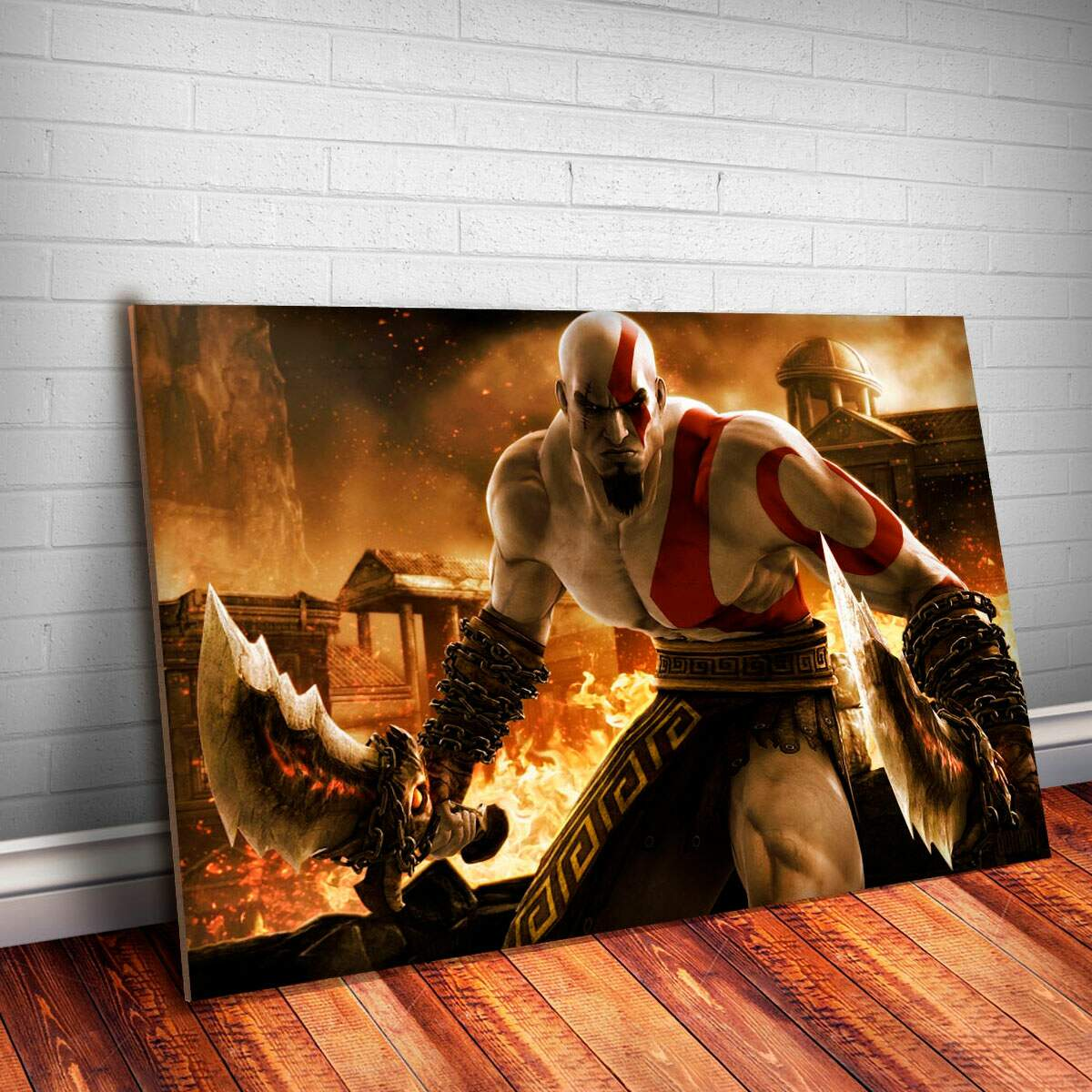 Placa Decorativa God of War 5