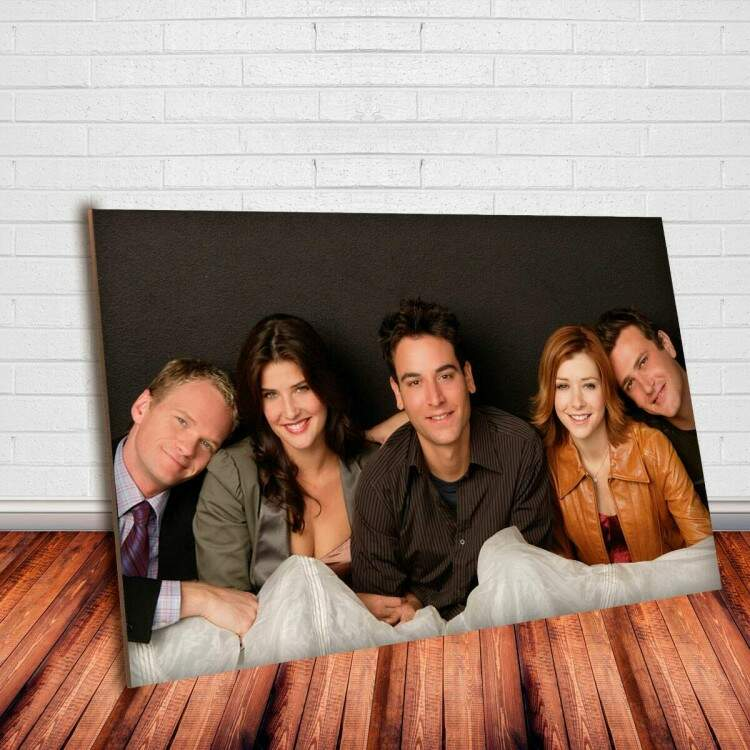 Placa Decorativa How I Met Your Mother 6