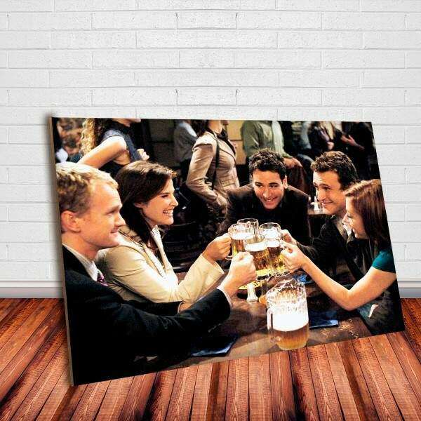 Placa Decorativa How I Met Your Mother 8