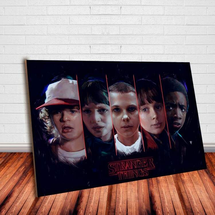 Placa Decorativa Stranger Things 3