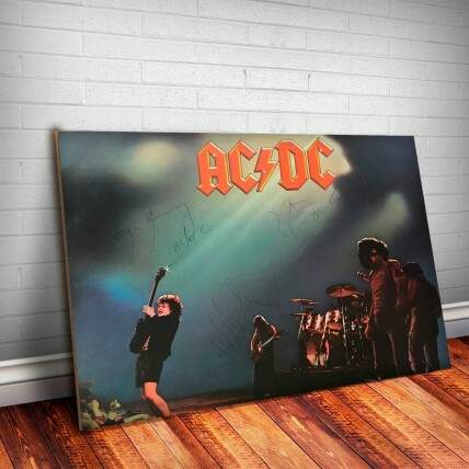 Placa Decorativa AC-DC 5 Let There Be Rock f
