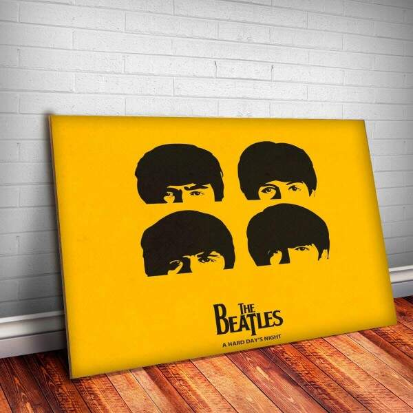 Placa Decorativa Beatles 6 Banda Musica