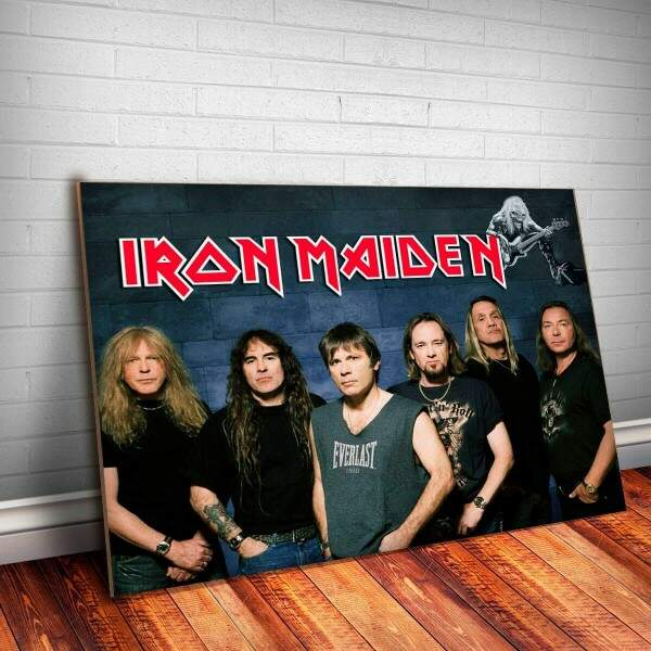 Placa Decorativa Iron Maiden 10