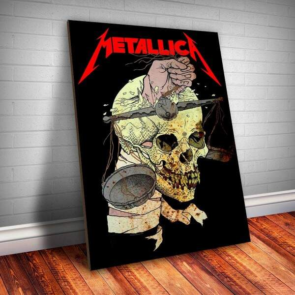 Placa Decorativa Metallica 2