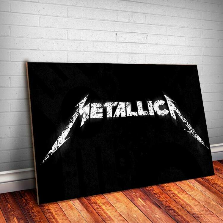Placa Decorativa Metallica 5