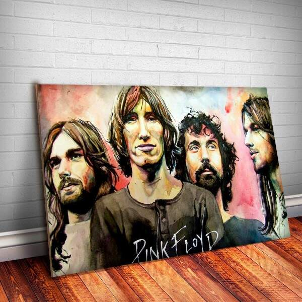 Placa Decorativa Pink Floyd 7