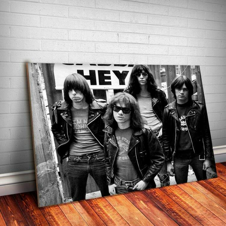 Placa Decorativa Ramones 7