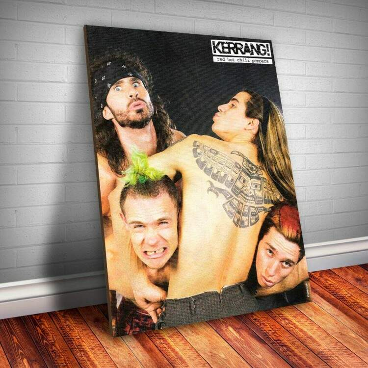 Placa Decorativa Red Hot Chili Peppers 1