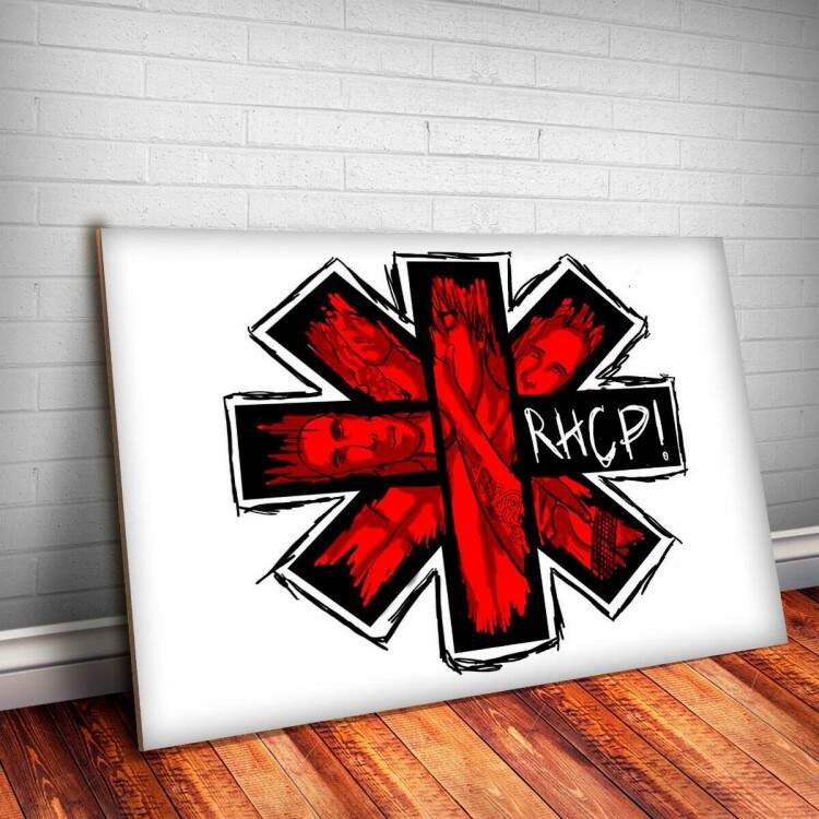 Placa Decorativa Red Hot Chili Peppers 5