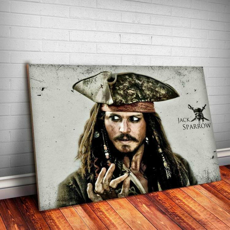 Placa Decorativa Piratas do Caribe 4