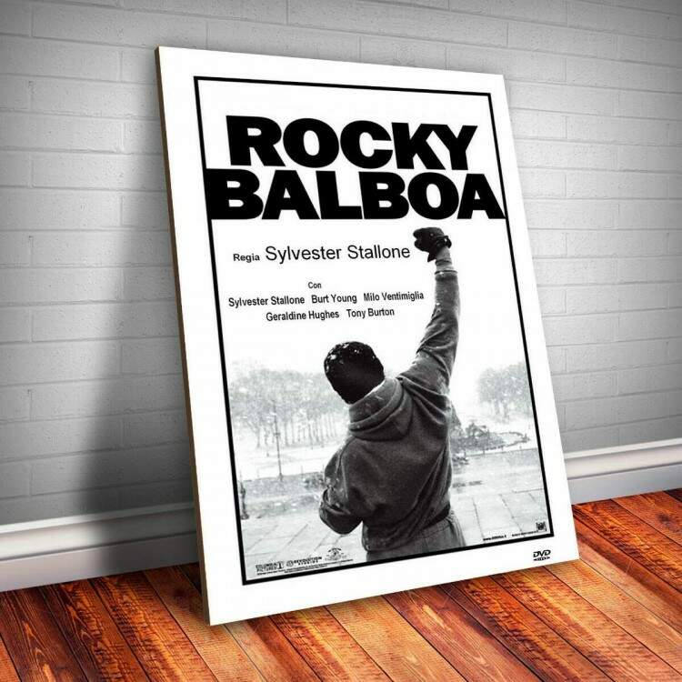 Placa Decorativa Rocky Balboa 2