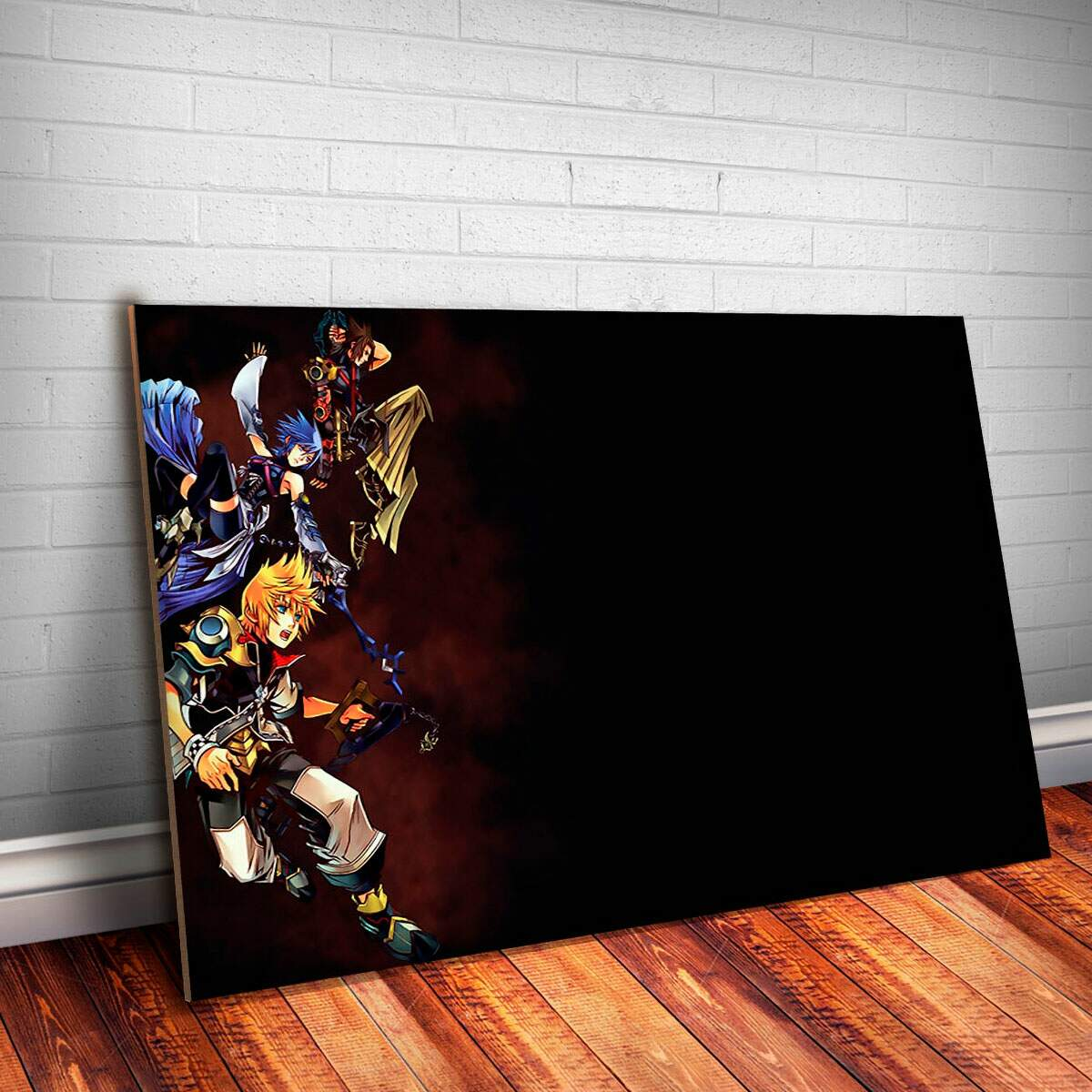 Placa Decorativa Kingdom Hearts 9