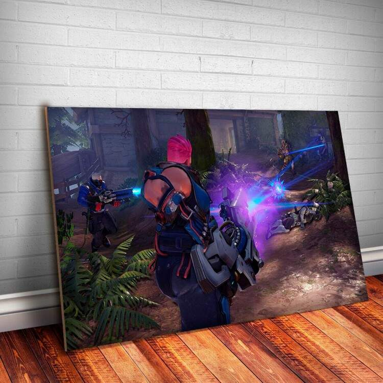 Placa Decorativa Overwatch 5