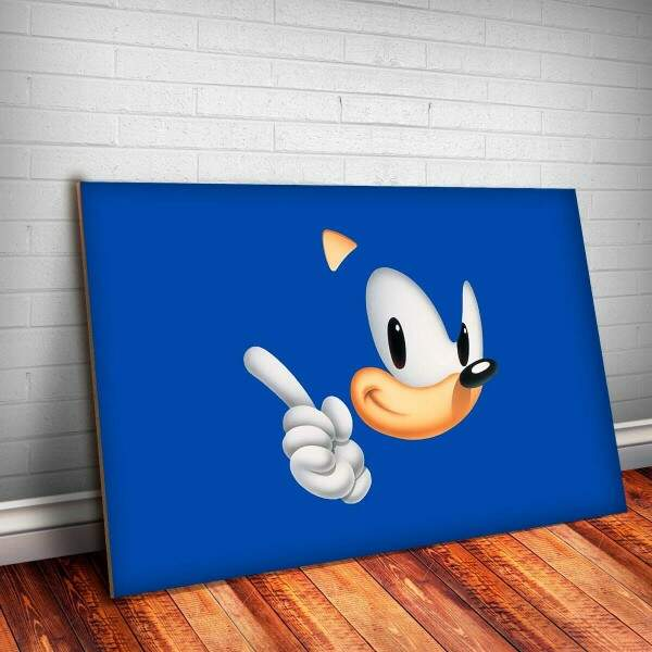 Placa Decorativa Sonic 2