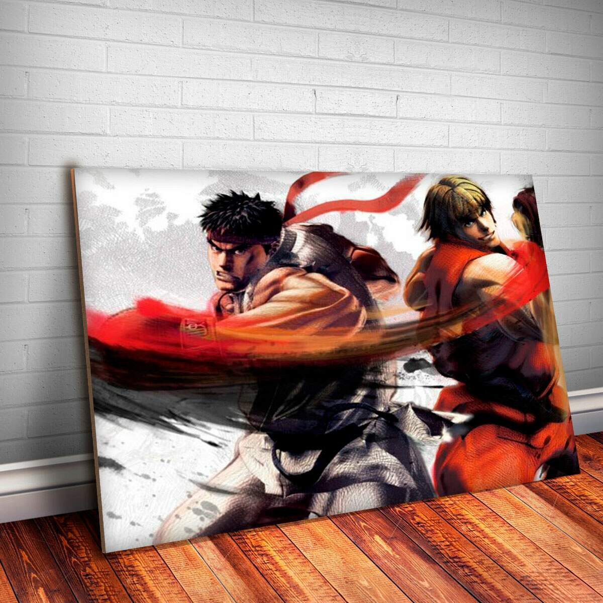 Placa Decorativa Street Fighter 5