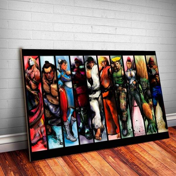 Placa Decorativa Street Fighter 10