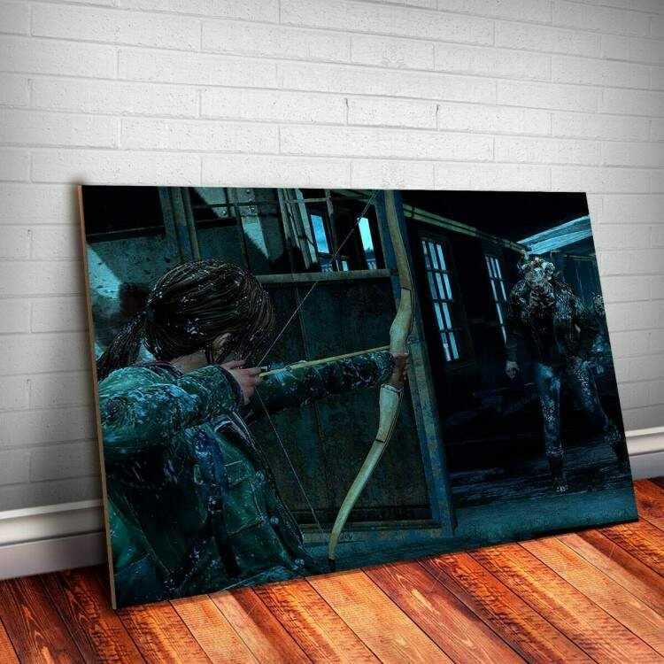 Placa Decorativa The Last Of Us 2