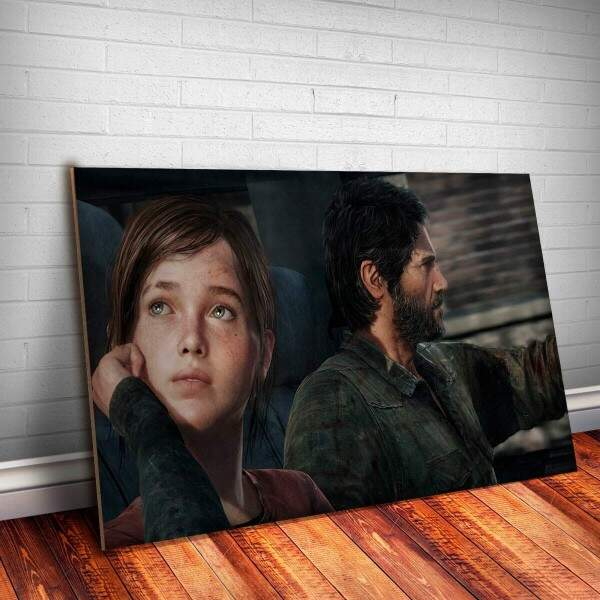 Placa Decorativa The Last Of Us 3