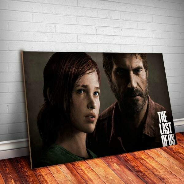 Placa Decorativa The Last Of Us 10