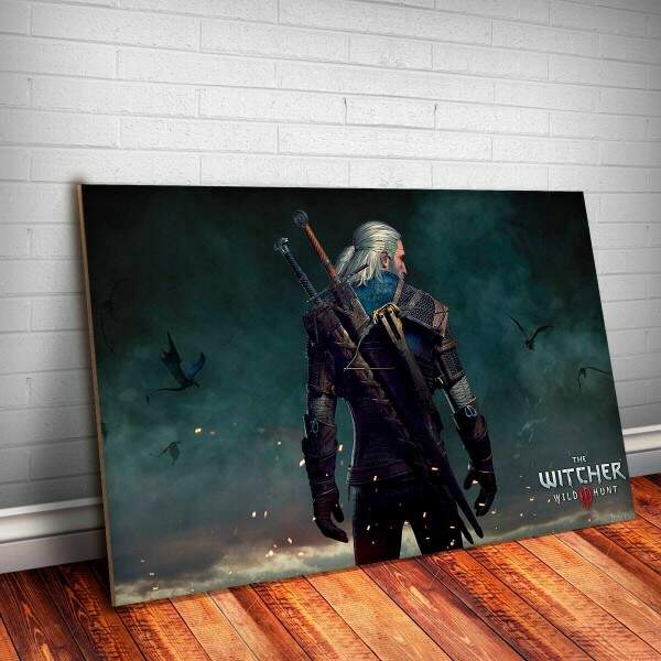 Placa Decorativa The Witcher 11