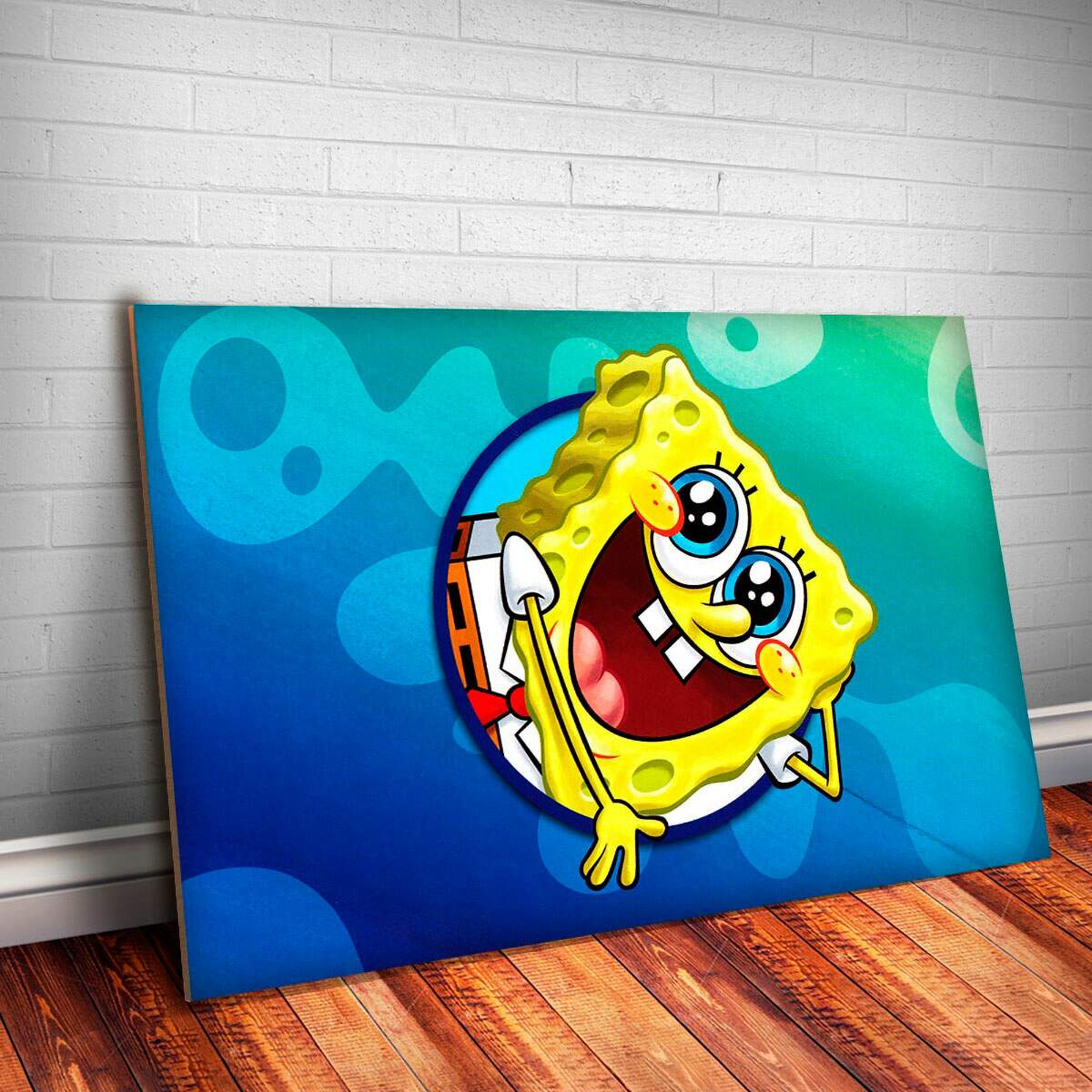 Placa Decorativa Bob Esponja 8