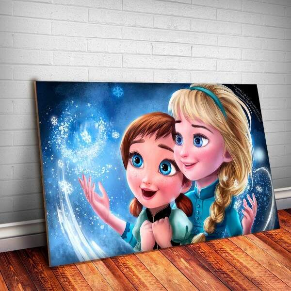 Placa Decorativa Frozen 10
