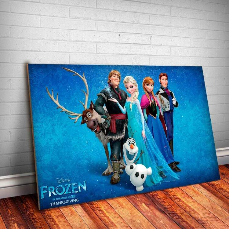 Placa Decorativa Frozen 12