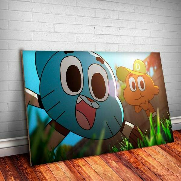 Placa Decorativa Gumball 6