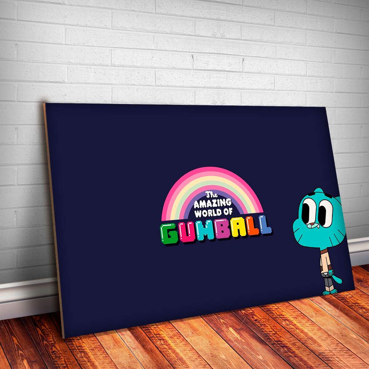Placa Decorativa Gumball 9