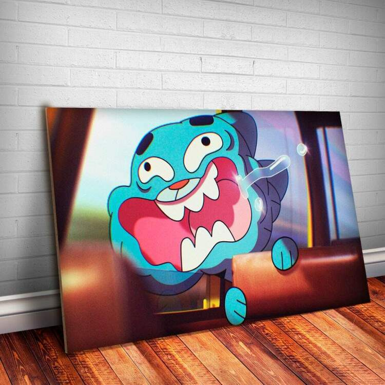 Placa Decorativa Gumball 12