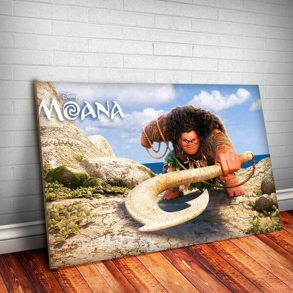 Placa Decorativa Moana 7