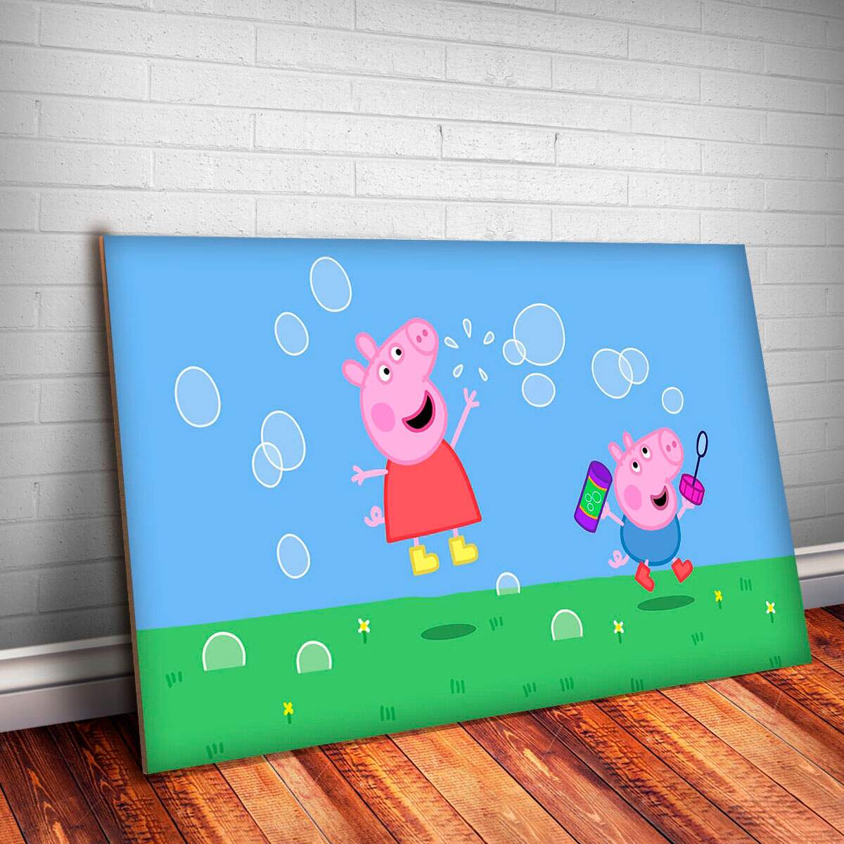 Placa Decorativa Peppa Pig 3