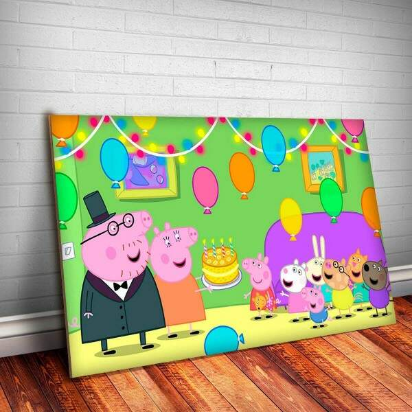 Placa Decorativa Peppa Pig 5