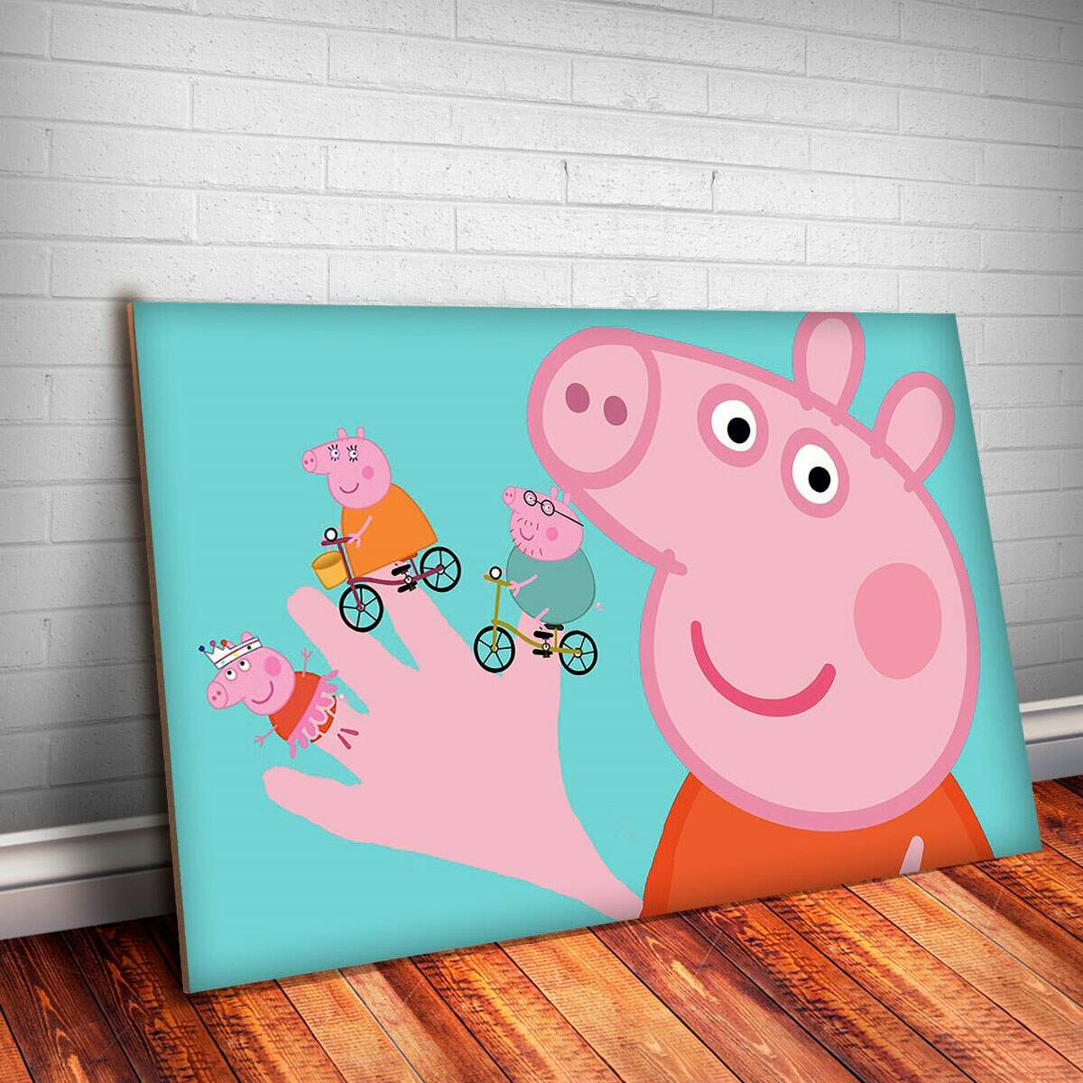 Placa Decorativa Peppa Pig 11