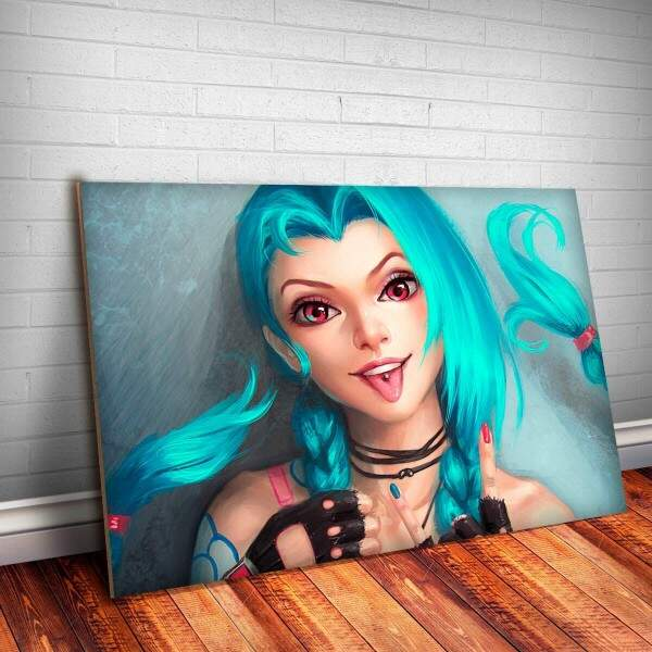 Placa Decorativa League of Legends 09