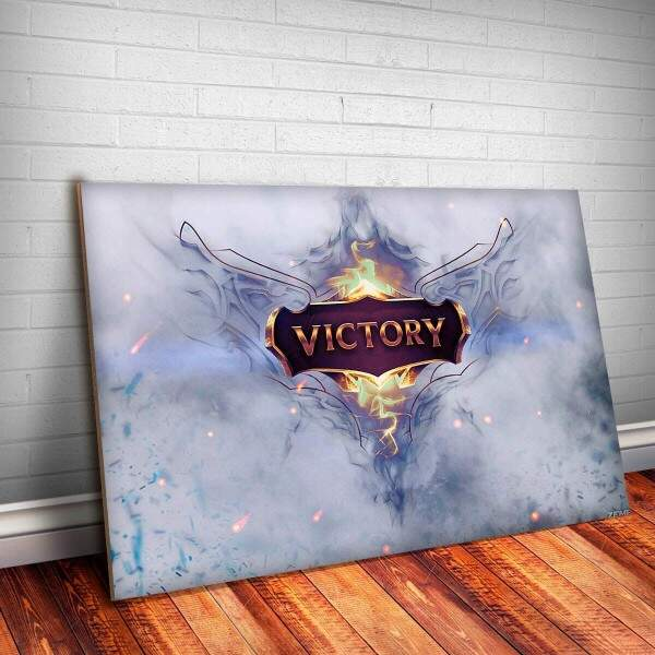 Placa Decorativa League of Legends 22
