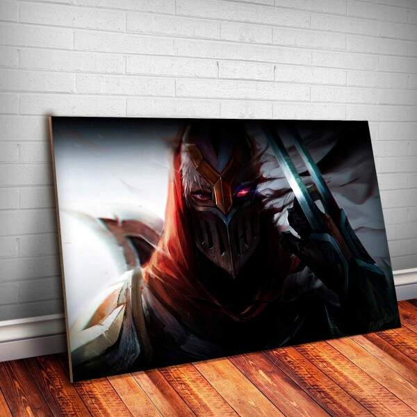 Placa Decorativa League of Legends 25