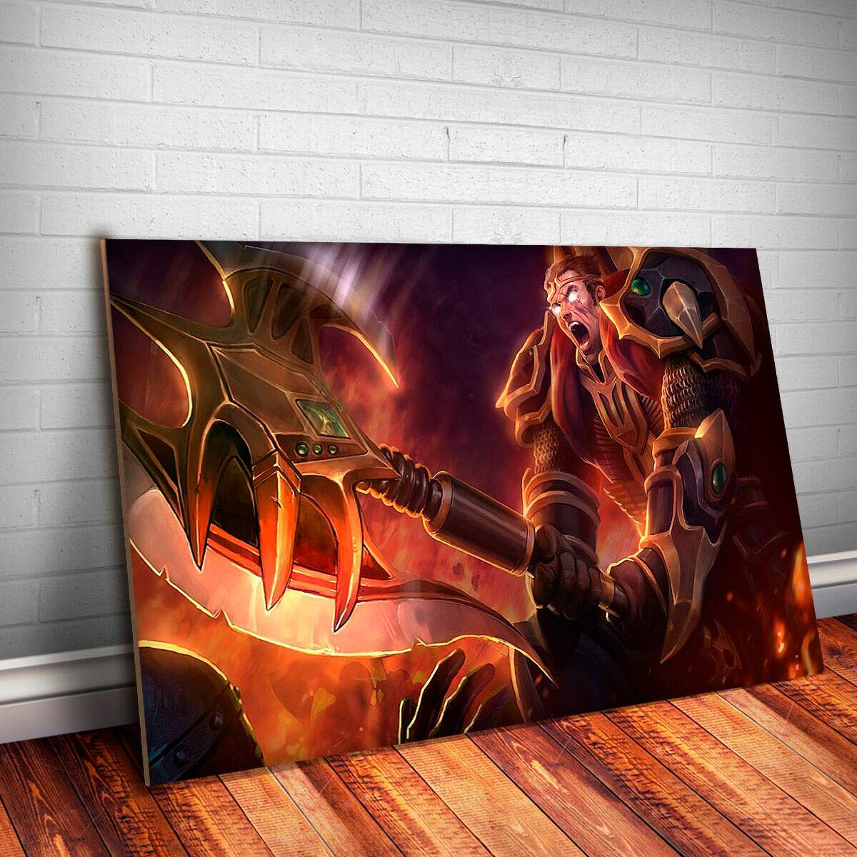Placa Decorativa League of Legends 72