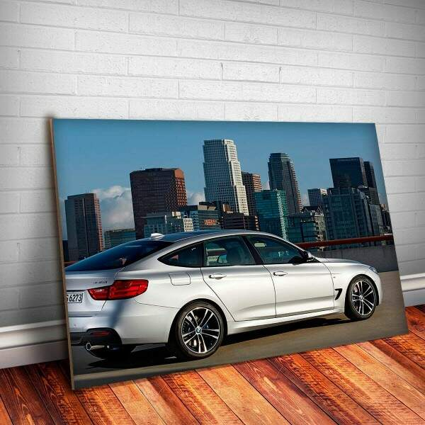 Placa Decorativa BMW Gran Turismo 2