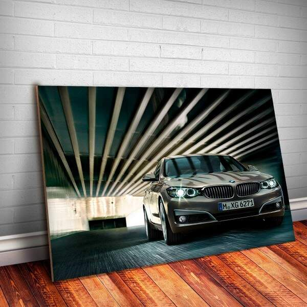 Placa Decorativa BMW Gran Turismo 4