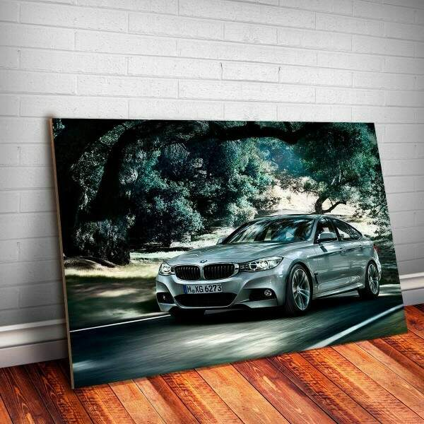 Placa Decorativa BMW Gran Turismo 7