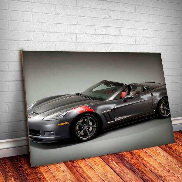 Placa Decorativa Corvette 7