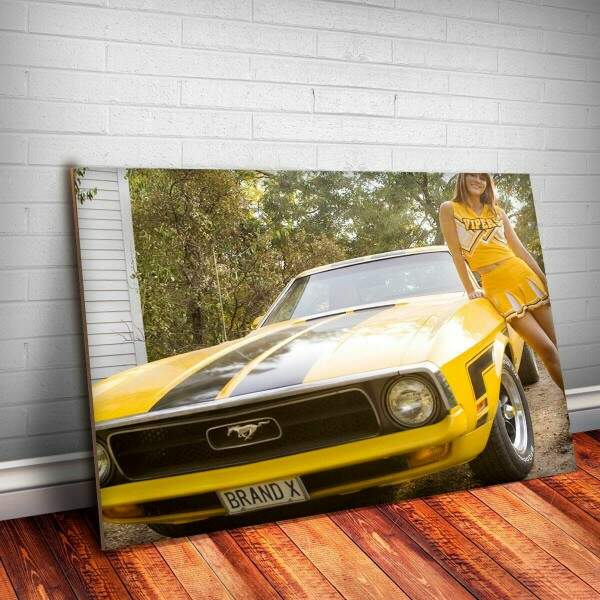 Placa Decorativa Mustang 2