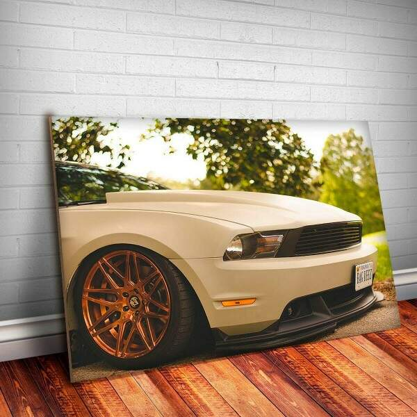 Placa Decorativa Mustang 3