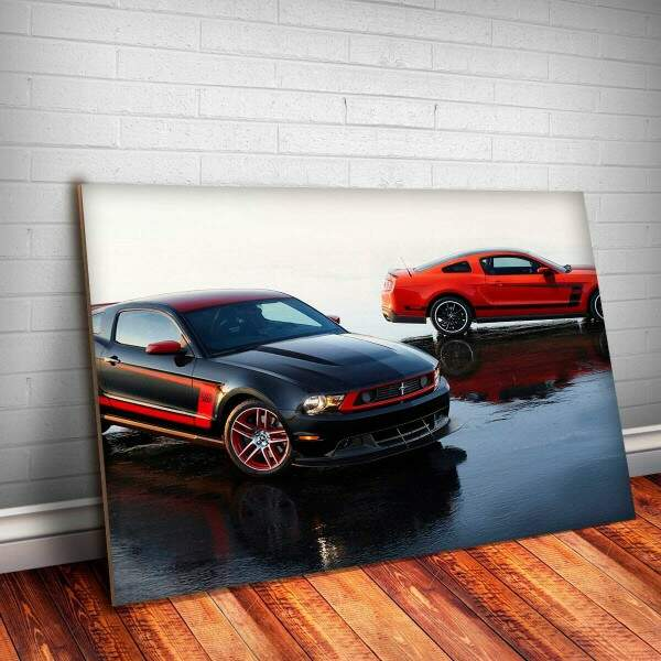 Placa Decorativa Mustang 9