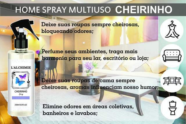 HOME SPRAY CHEIRINHO DE PATHOULY 250ml
